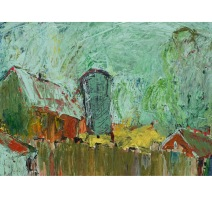54 Old Farm Isle of Wight Acryl /2007/