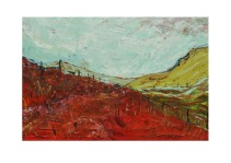56 Red Field Isle of Wight Acryl /2007/