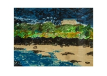 "61 ""Wedding Ring Bay"" near Coverack Cornwall Acryl /2014/"
